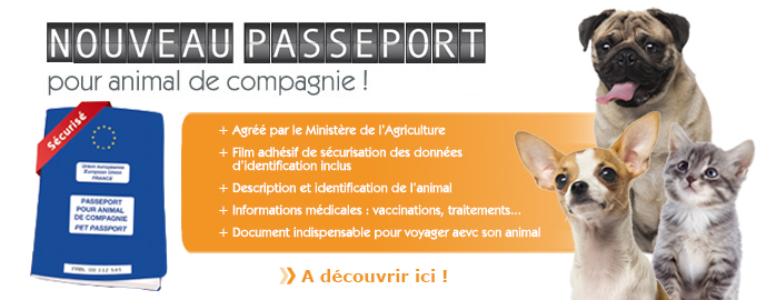 passeport pour animal de compagnie