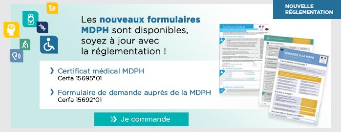 Documents MDPH modifies