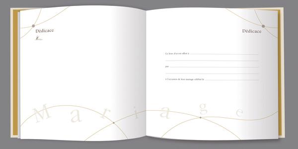 Le livre d 39 or de notre mariage ouvrages la boutique for Le livre de mariage