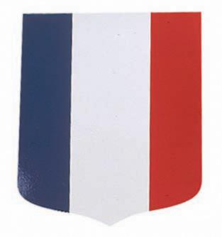 Cusson porte drapeaux tricolore pied porte drapeaux for Porte drapeaux