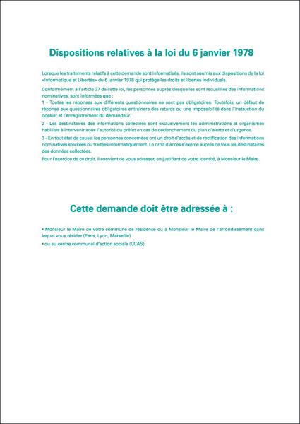 Formulaire de demande d 39 inscription sur le registre for Inscription d et co
