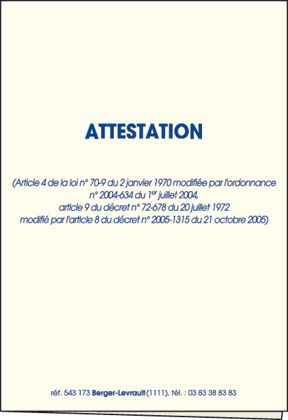 Modele attestation pret familial document online - Documents pret immobilier ...