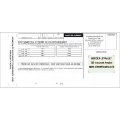Réf. 260000P : Carnet de verbalisation vert