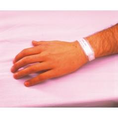 bracelet d 39 identification inviolable en plastique souple bracelet d 39 identification d c s. Black Bedroom Furniture Sets. Home Design Ideas