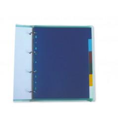 Réf. 530816 : Jeu d'intercalaires multicolores à 6 onglets neutres