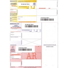 Réf. 681218 : feuille avec AR