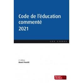 Code de l'éducation commenté 2021