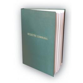 BL Reliure Registre communal vert 100 feuillets
