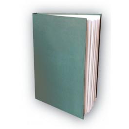BL Reliure Registre vert pour tous types de documents A4, 100 feuillets