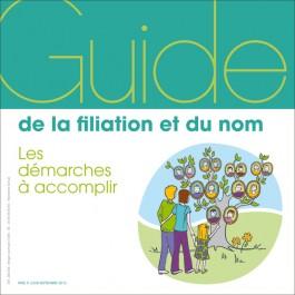 Le guide de la filiation et du nom