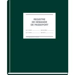 Registre de demande de passeport - grand modèle