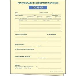 Dossiers du fonctionnaire - Éducation nationale