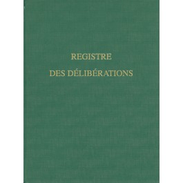 Les registres 200 pages