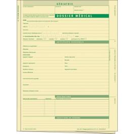 Dossier médical pour service de gériatrie