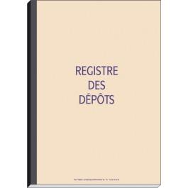 Registre des dépôts