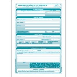 SP 30 (S 3413) - Information médicale d'admission