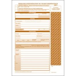 SP 32 - Demandes d'exonération du ticket modérateur