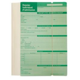 Dossier individuel d'admission - version polypropylène