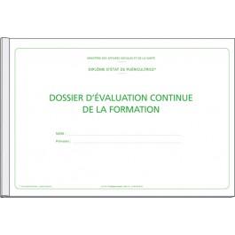 Dossier d'évaluation pour le diplôme de puéricultrice