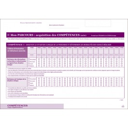 Fiches compétences et actes de soins pour stages supplémentaires - Portfolio MER
