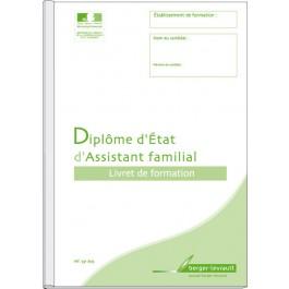 Livret de formation - Diplôme d' État d'assistant familial (D.E.A.F)