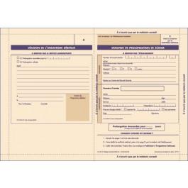 SP 10 - Demande de prolongation de séjour