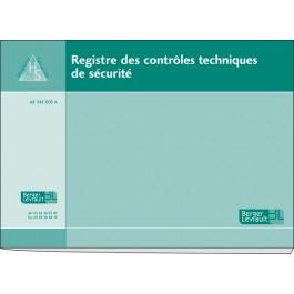 Registre des contrôles techniques de sécurité
