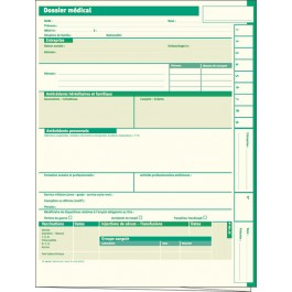 Dossier médical en santé au travail (médecine du travail)