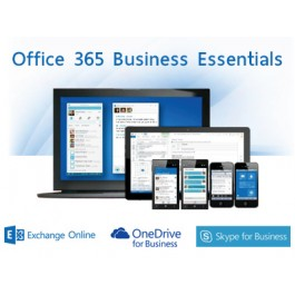 Abonnement Office 365 Business Essentials - 1 an  - 1 utilisateur