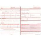 Demandes d'Admission - Hébergement - Réadaptation (350.2.3). Liasse de 2 feuillets autocopiants