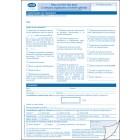 Réf. 530670 : Liasse de 2 feuillets autocopiants - Version standard