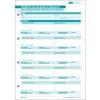 Fiche de validation des paraphes et signatures des professionnels intervenant à domicile