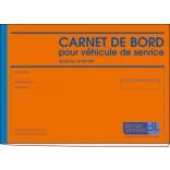 Carnet de bord pour véhicule de service