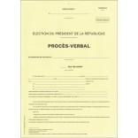 Procès-verbal du bureau de recensement général du département - Modèle C