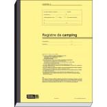 Réf. 521002 : 2 fiches campeurs par page pour 150 campeurs