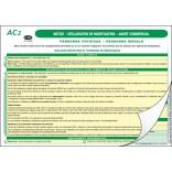 AC2 - Déclaration de modification