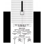 Cible de réglage pour FR-F1 - 25/200 m - sur papier