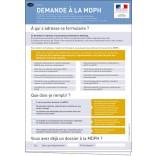 Formulaire de demande(s) auprès de la MDPH